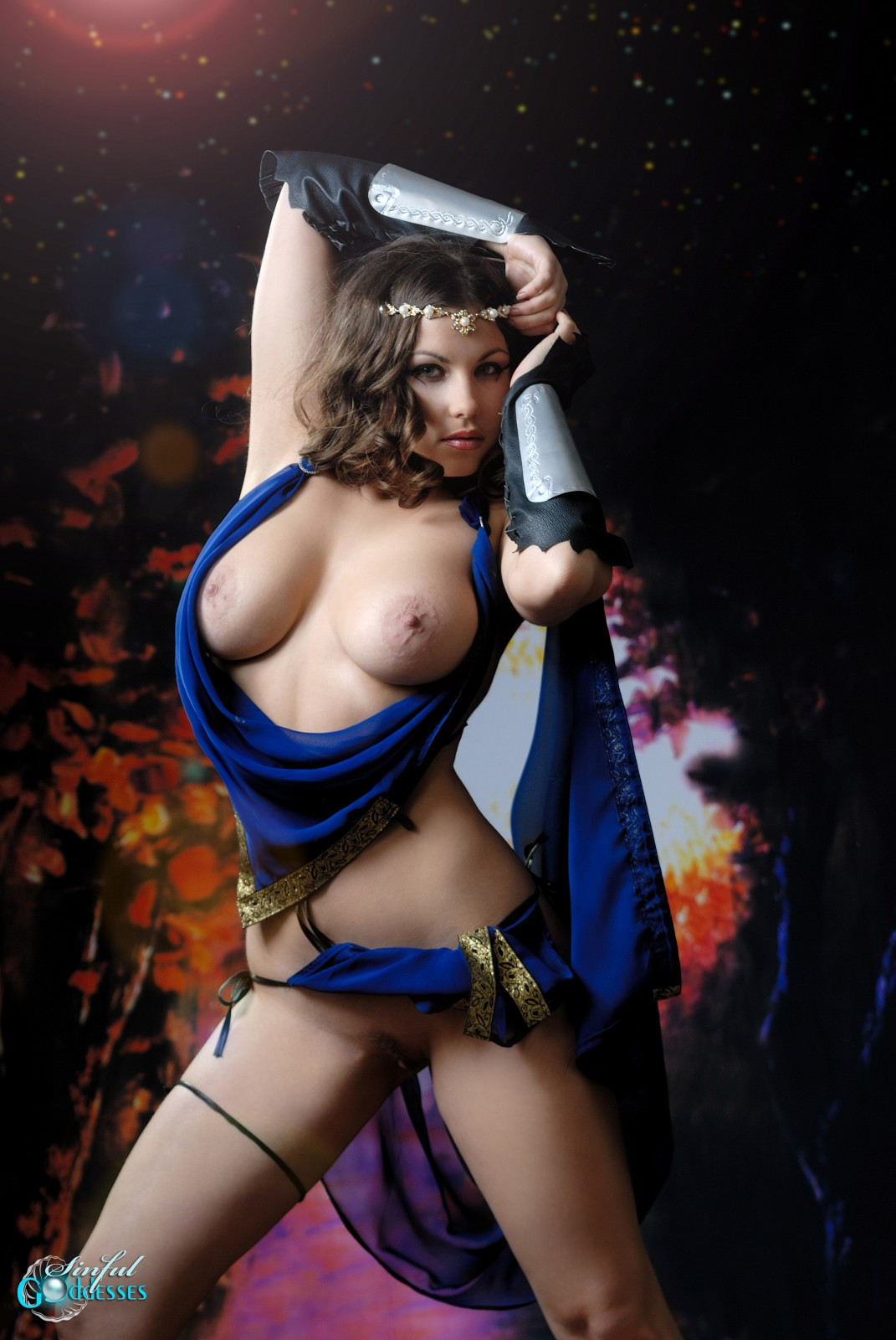 Fantasy sword girl porn erotica video